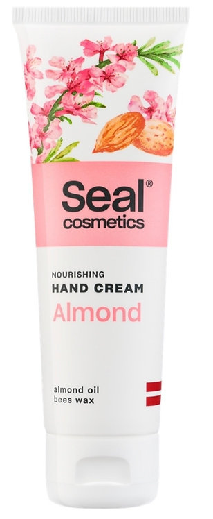 Nourishing hand cream with almond oil and beeswax