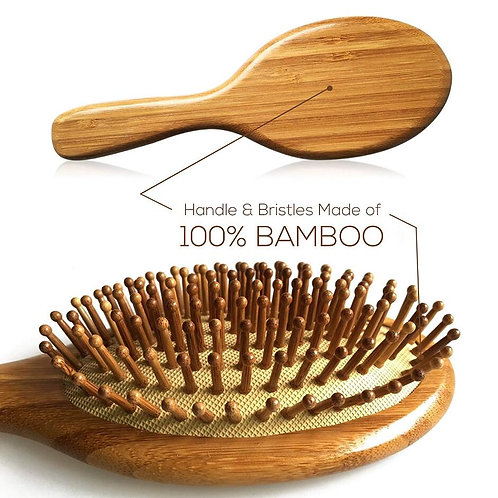 Premium Wooden Bamboo Hair Brush