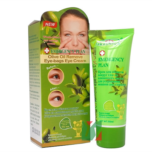 Olive Oil Remove Eye-Bags Eye Cream for Against Puffiness and Eyes Dark Circle