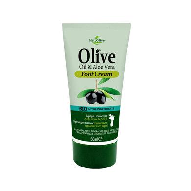 Olive oil Aloe vera Foot Care Cream mini