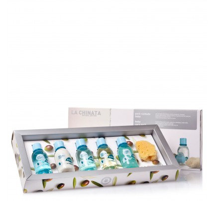 Natural olive baby skin care SET