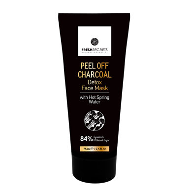 Face Mask Peel Off With Charcoal