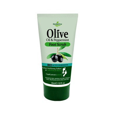 Olive oil Peppermint Foot Scrub