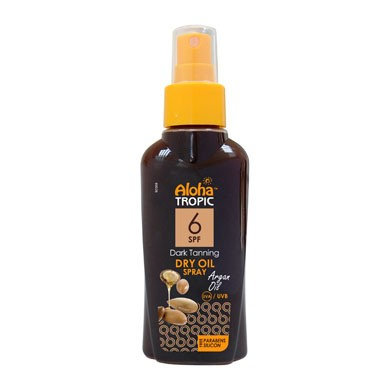 Argan dry oil Dark tanning