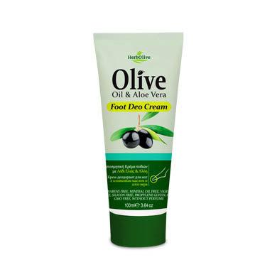Foot Care Deo Cream Olive oil Aloe vera