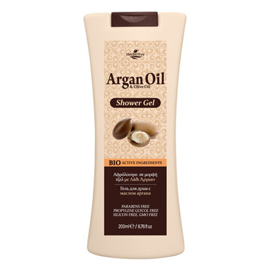 Body Shower Gel With Argan Oil
