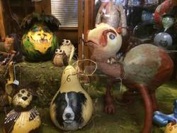 Lucie's Gourd Art