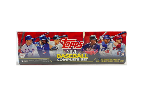 2020 Topps Complete Factory Set - Hobby Version