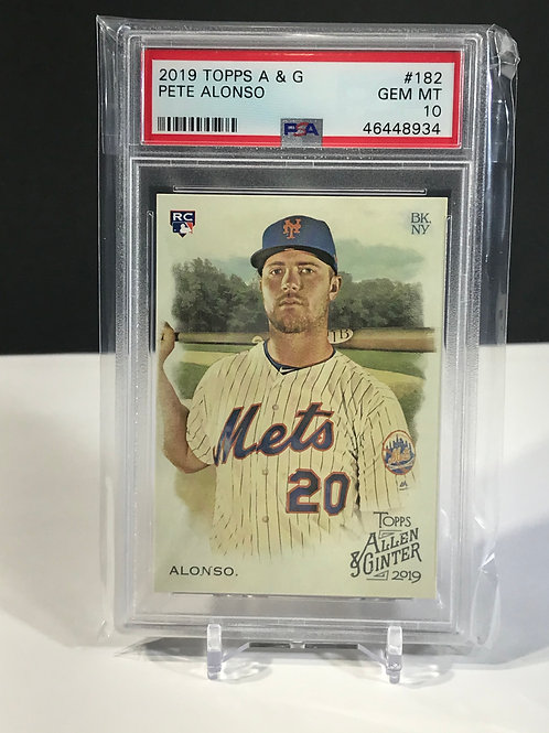 PSA 10 Pete Alonso Rookie Allen & Ginter