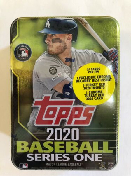 Sealed Cody Bellinger 2020 Topps Series 1 Collectors Tin