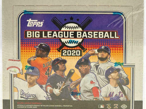 2020 Topps Big League Hobby Box