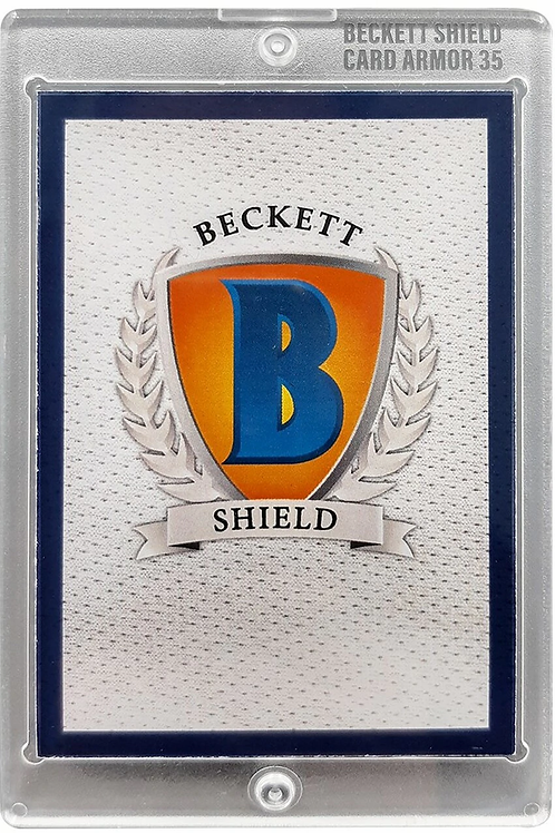 Beckett Shield Card Armor 35 pt