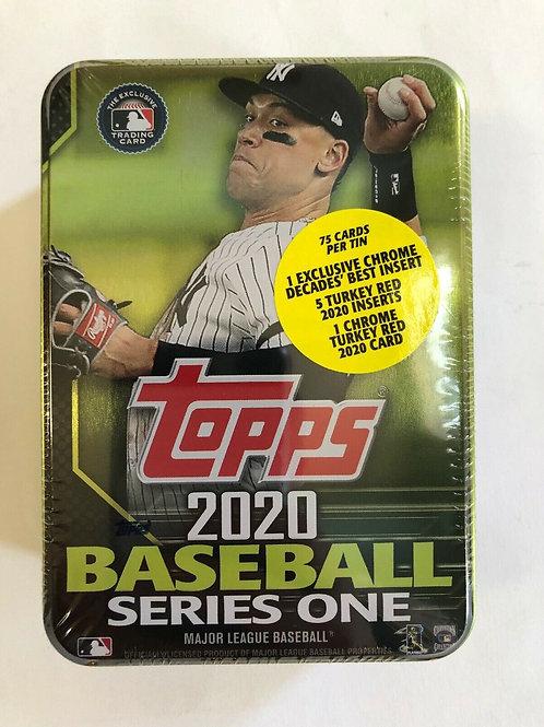 Sealed Aaron Judge 2020 Topps Series 1 Collectors Tin
