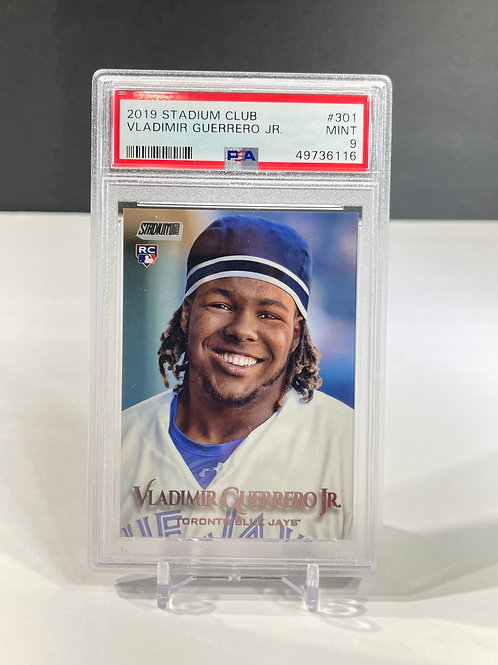 2019 Vladimir Guerrero Jr. Rookie Topps Stadium Club PSA 9 MINT