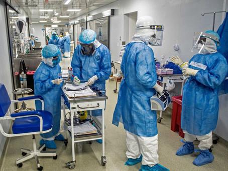 Covid-19: Brasil registra 1.370 mortes em 24 horas, diz consórcio