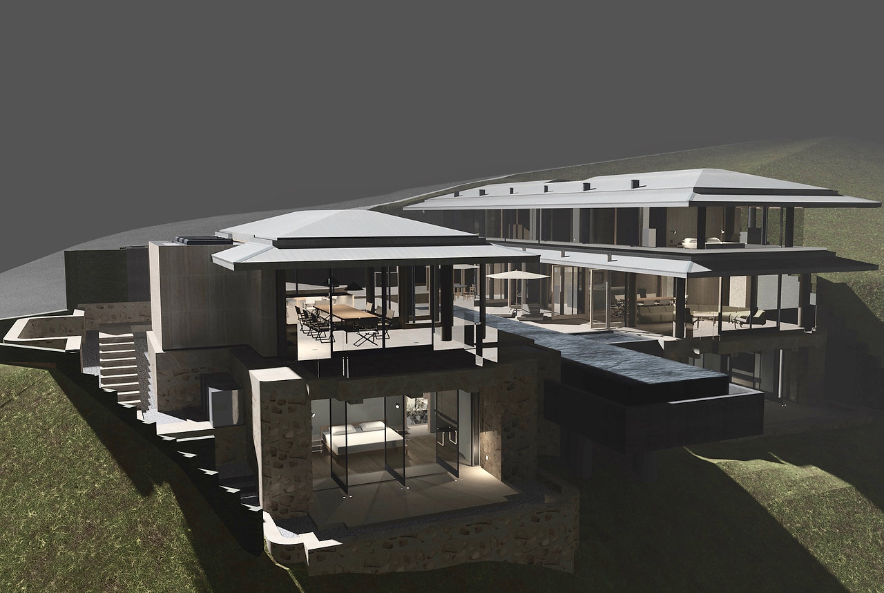 Archive Design Group -- Blue Jay Way Residence