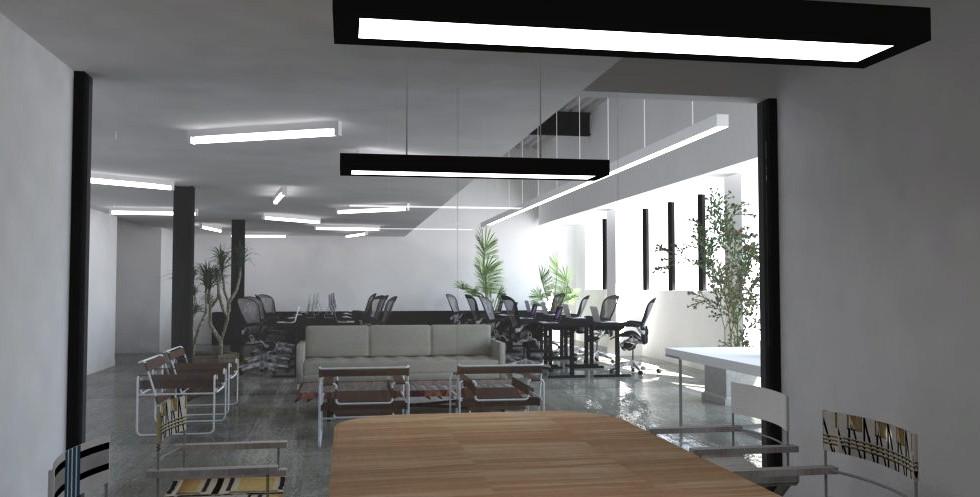 TASK US OFFICE - Interior Rendering