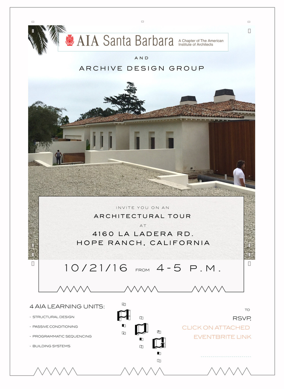 AIA Santa Barbara - Tour of La Ladera Residence 12-10-16