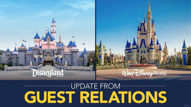 Disney Guest Relations Releases Update Regarding Planning Your Disney Parks Vacation
