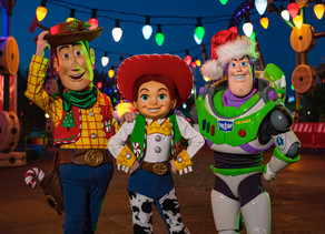 Sneak Peek of Toy Story Land During the Holidays