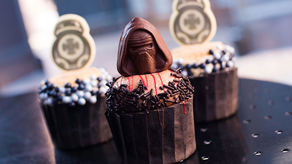 Star Wars Cupcakes at Hollywood Studios