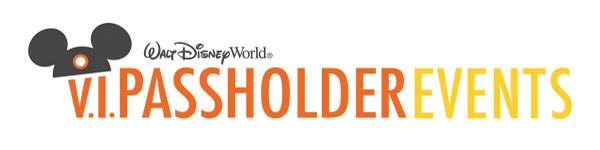 V.I.Passholder Events Walt Disney World
