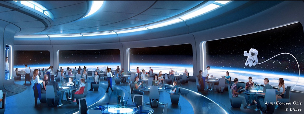 New Details About the Space-Themed Restaurant Coming to Epcot