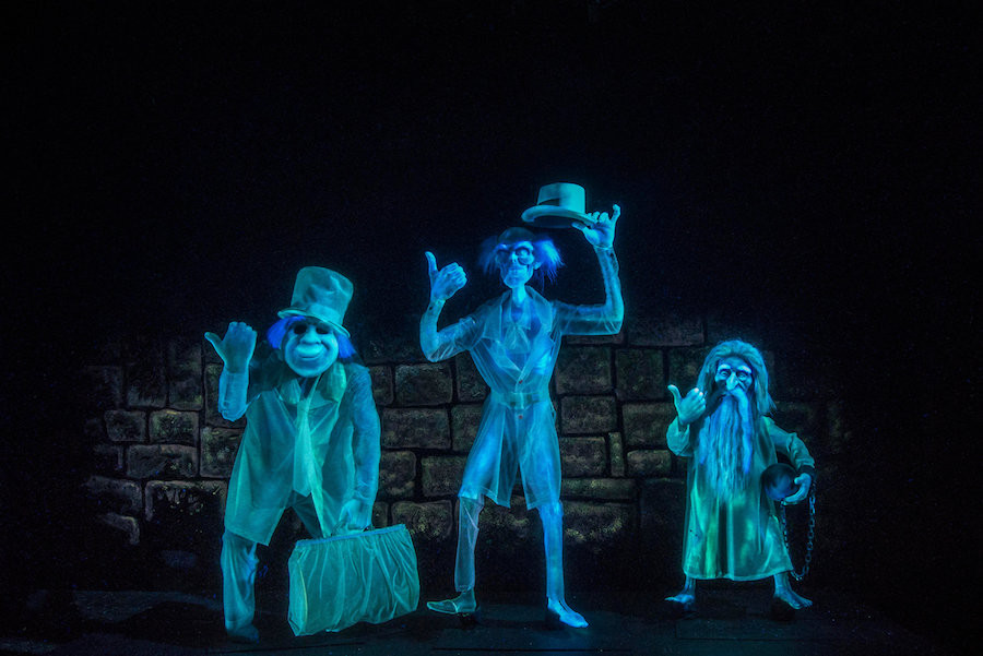 Haunted Mansion Disneyland Hitchhiking Ghosts
