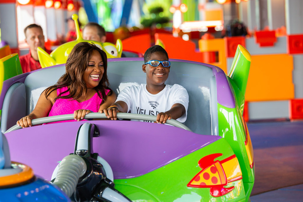 Celebrities Visit Toy Story Land at Walt Disney World