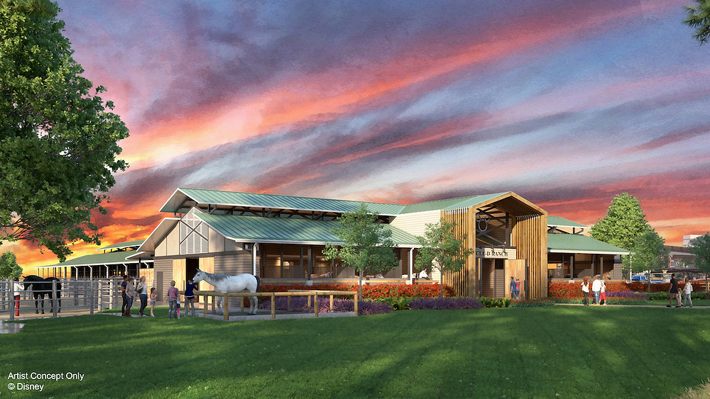 New Barn Coming to Disney's Fort Wilderness Resort & Campground in Spring 2020