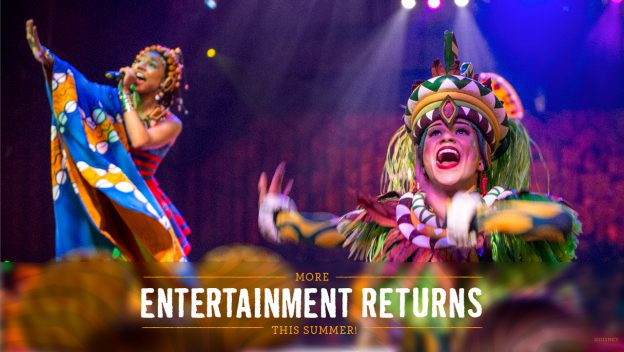'Festival of the Lion King' to Return This Summer at Disney's Animal Kingdom