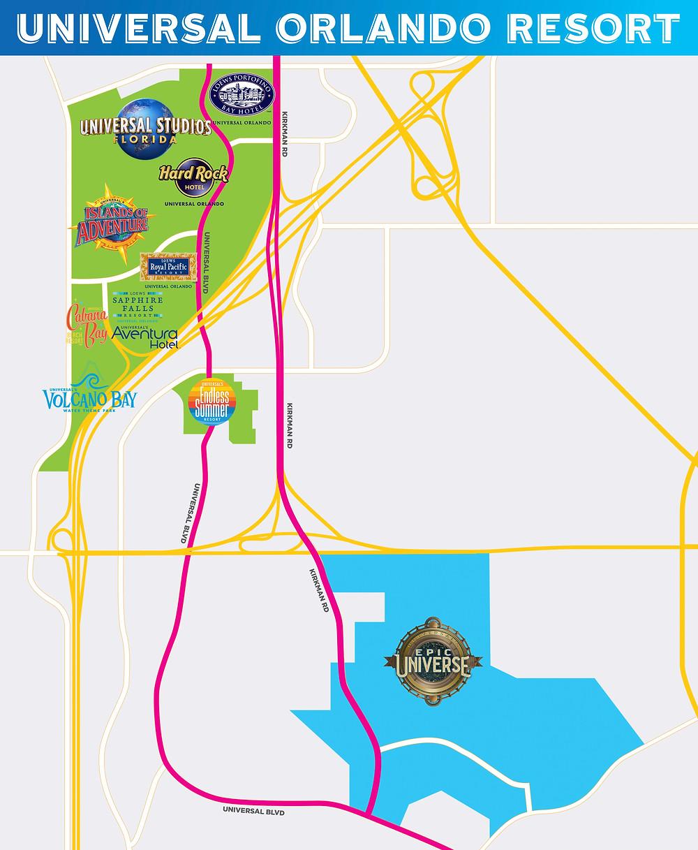 Universal's Epic Universe - New Theme Park Coming to Universal Orlando Resort