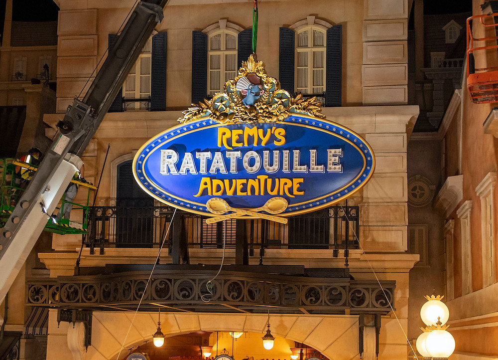 Remy's Ratatouille Adventure To Open in 2021