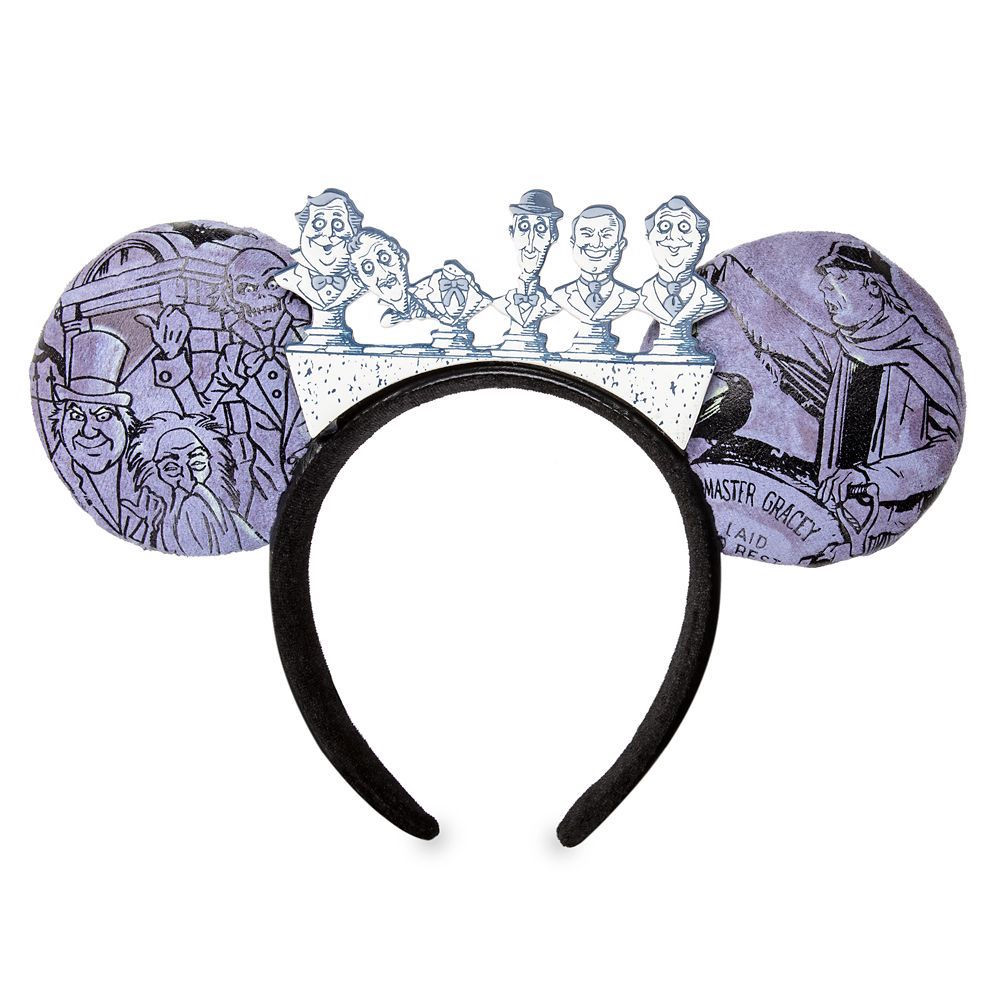 Haunted Mansion Glow-in-the-Dark Graveyard Ear Headband Now Available at Disney Parks!