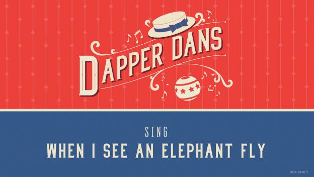 Dapper Dans Sing 'When I See An Elephant Fly'