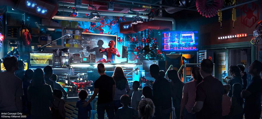 The Name and New Details Revealed About the Spider-Man Attraction Coming to Avengers Campus