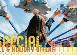 New Fall and Holiday Offer Released Today for Walt Disney World!  Save Up to $500!