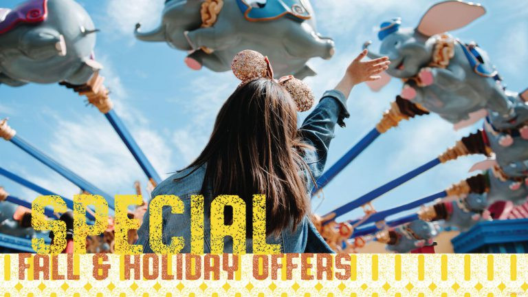 New Fall and Holiday Offer Released Today for Walt Disney World!