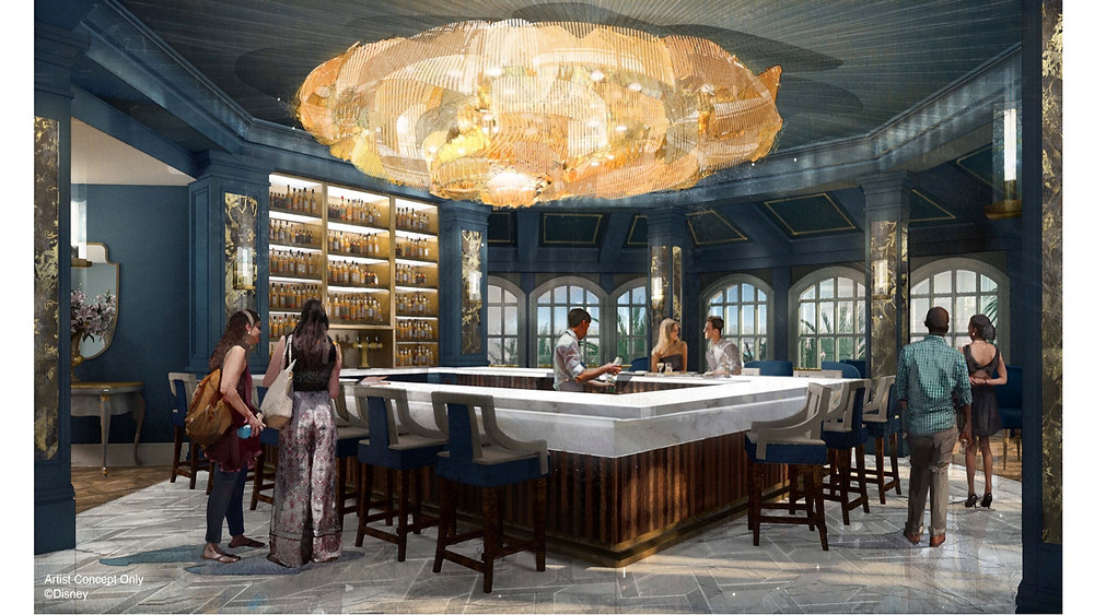 New 'Beauty and the Beast' Inspired Bar and Lounge Coming to Disney's Grand Floridian Resort & Spa