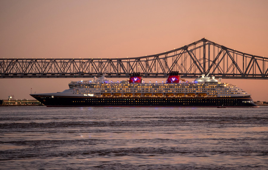 Disney Cruise Line Sets Sail from New Orleans for the First Time!