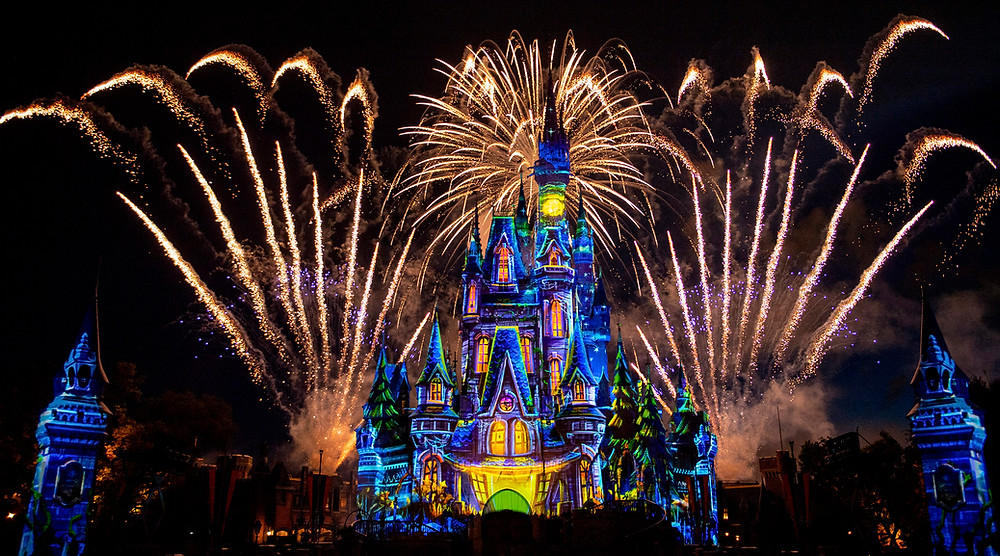 Watch the New 'Disney's Not So Spooky Spectacular' Fireworks Sunday, Sept. 15 at 10:10 p.m. ET