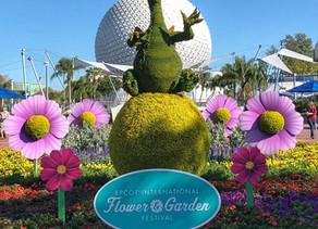 New Details About the Epcot International Flower & Garden Festival March 4 - June 1