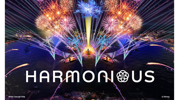 Floating Platforms Delivered for 'Harmonious' Coming to EPCOT Later This Year