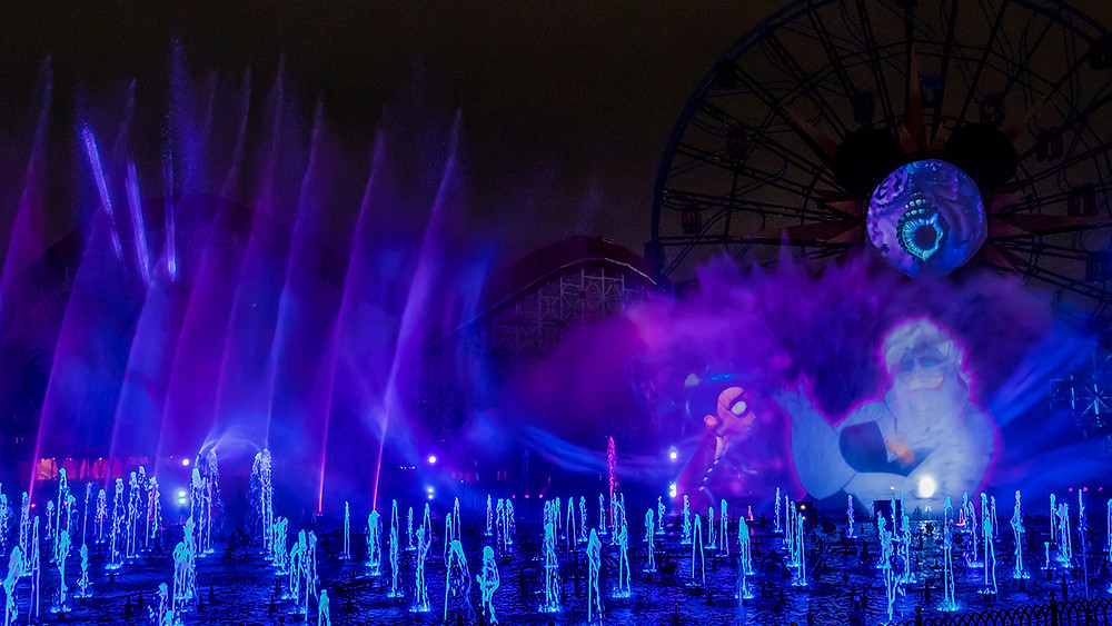 Learn More About the 'World of Color' – 'Villainous!' at the Oogie Boogie Bash at Disneyland Resort