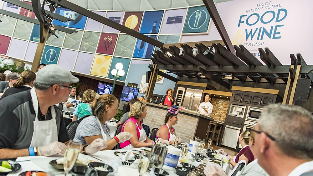 Mix It, Make It, Celebrate It! Schedule Released for 2019 Epcot International Food & Wine Festival