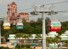 Unwrapping of 55 Disney Skyliner Gondolas at Walt Disney World Take Flight