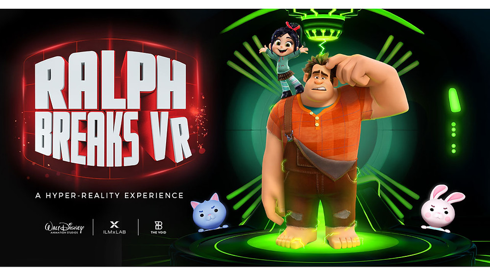 A New Hyper Reality Experience Ralph Breaks VR Coming to Disney this Fall!