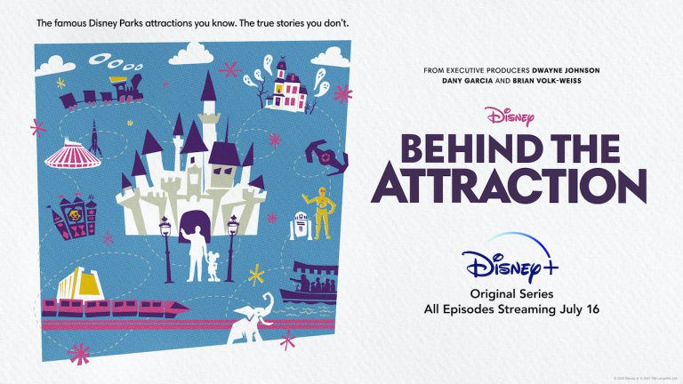 A New Original Series Goes Behind the Attractions on Disney+