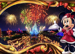 New Holiday Fireworks Show for Mickey's Very Merry Christmas Party at Walt Disney World Resort