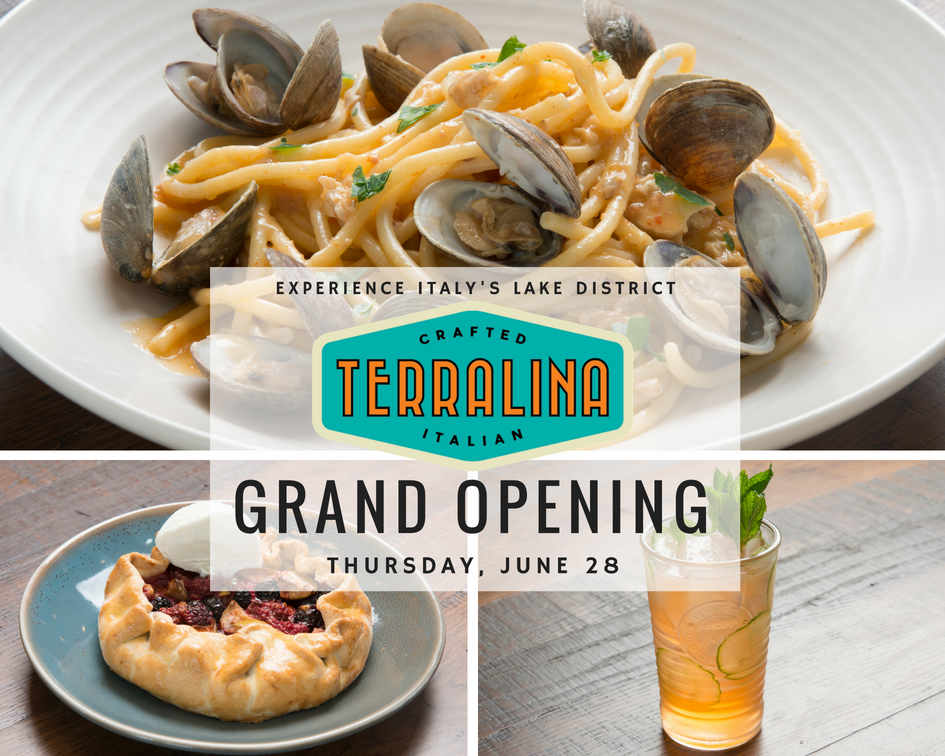Terralina Crafted Italian to Open Thursday June 28